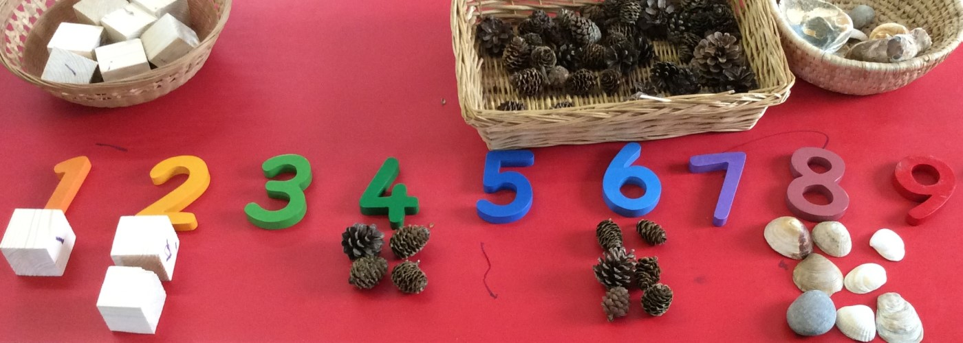 Pre-school activity - counting